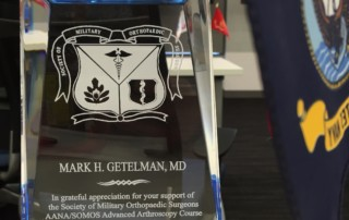 Society of Military Orthopaedic Surgeons Award